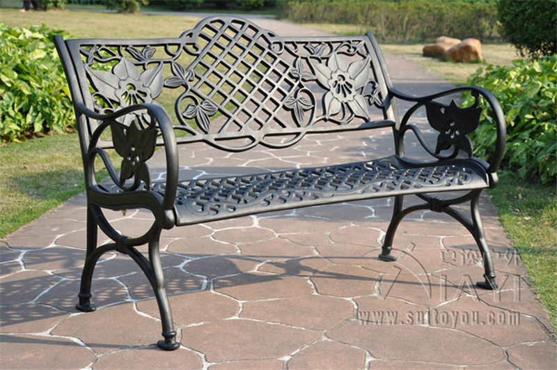 Online Get Cheap Metal Garden Benches