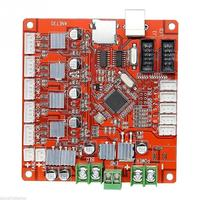 A8 3D Printer Mainboard Parts Control Board Update Motherboard V1.0 RepRap Ramps1.4 Compatible For Anet A8 3D Desktop Printer