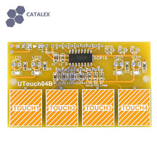 4-Channel Anti-interference Digital Capacitive Touch Sensor Switch Module for Arduino