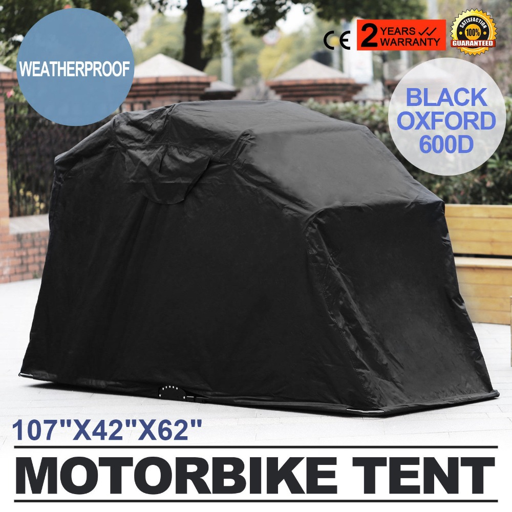 Home Tool Large Motorbike Bike Shelter Cover Outdoor Shed Garage Moped Motorcycle Storage