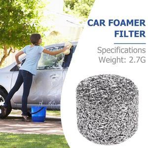 Image 5 - 1 adet paslanmaz çelik köpük aparatı yedek filtre parçaları yüksek kaliteli Lance örgü Tablet kar köpük jeneratörü araba aksesuarları
