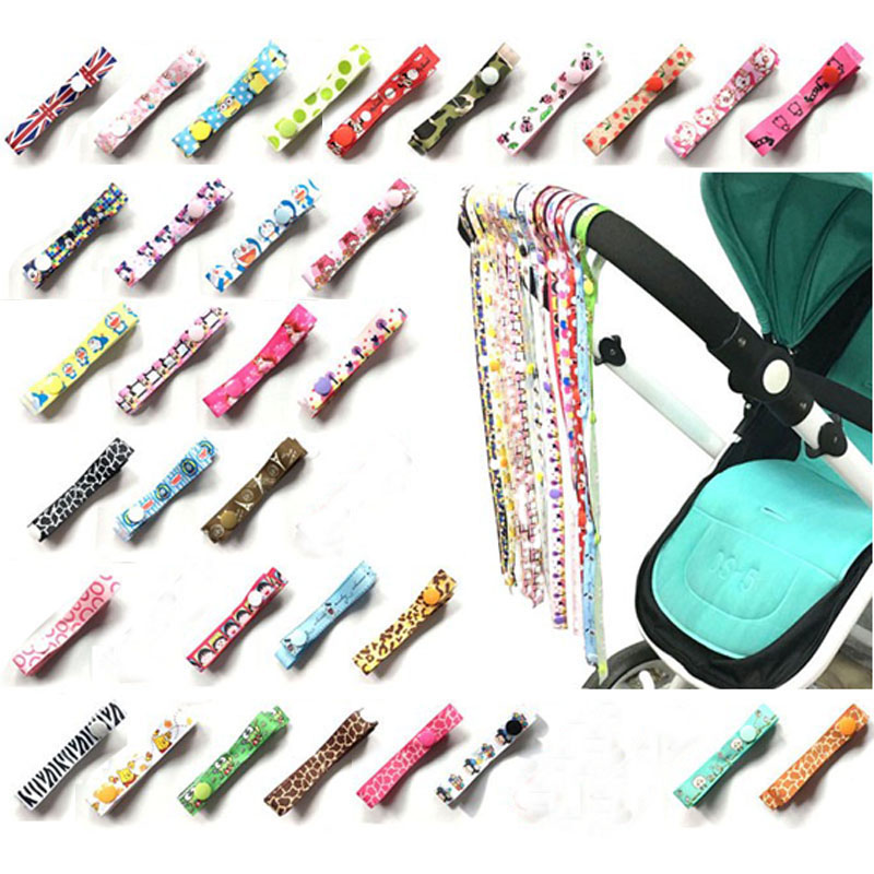2018 Pacifier Chain Stroller Accessory Strap Holder Toys Saver Fixed Bind Belt Toy Baby Anti-Drop Hanger Belt Lanyard G0038
