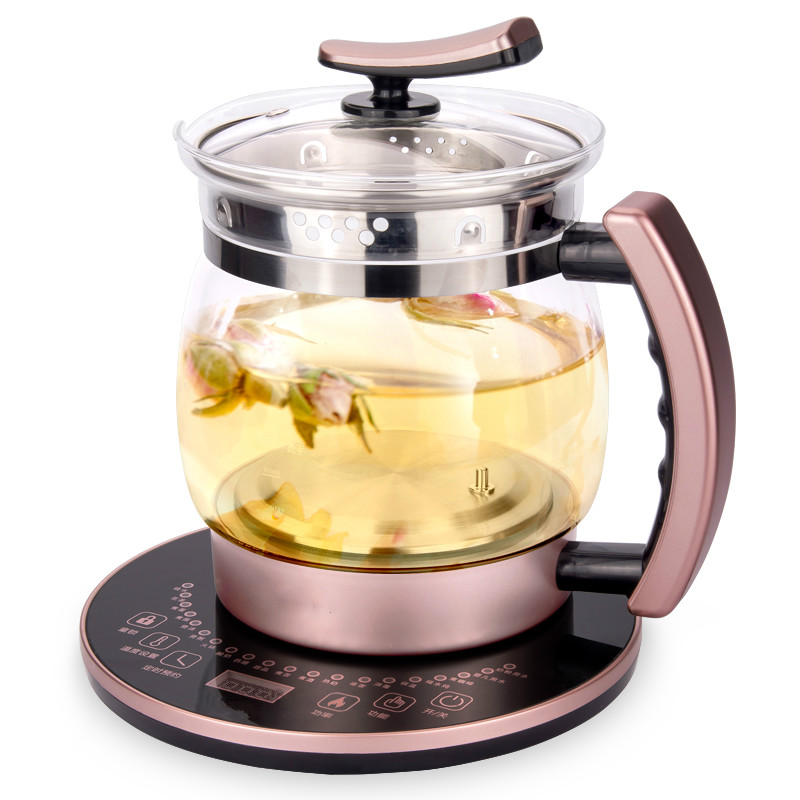 Curing pot Fully automatic thickened glass multi-function large capacity for making tea and boiling flower teapot electric kettle curing pot tea black tea pu er fully automatic thickened glass multi function flower teapot