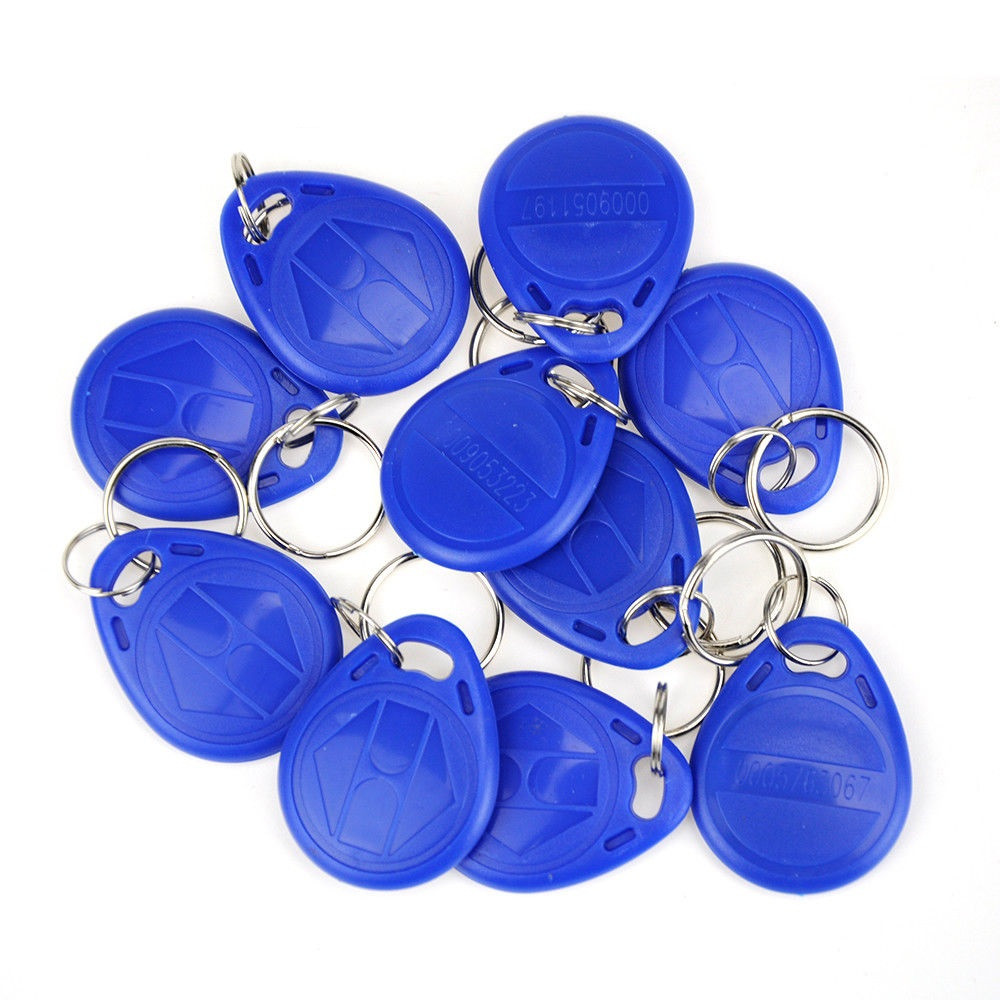 100Pcs/Lot 125kHz EM4100 RFID Keyfob Tag Token Access Control Card Read Only hw v7 020 v2 23 ktag master version k tag hardware v6 070 v2 13 k tag 7 020 ecu programming tool use online no token dhl free