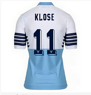 2016 new Lazio jersey 15 16 Lazio home football shirt Klose Candreva  Cavanda jersey Lazio soccer jerseys Eagle 115th Anniversary-in Soccer  Jerseys from ... 2ded8bf82