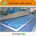 Frete grátis com logotipo personalizado ar caindo, Trilha de ar inflável, Airtrick Mat para venda, Ar inflável andar para venda