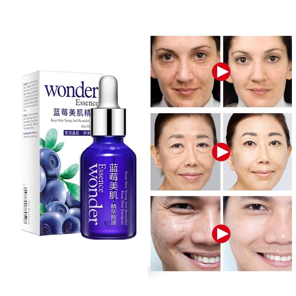 Love Thanks 15ml Natural Face Serum Hyaluronic Acid Anti Wrinkle Vitamin C Skin Care Remove Acne Facial Cream