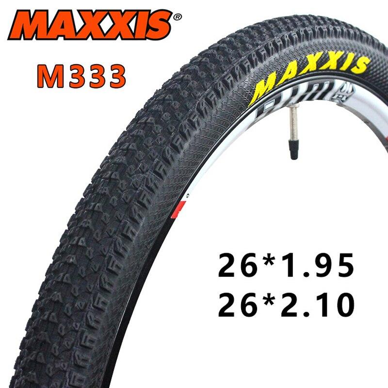 2018 Haute Qualité pneu Route Vélo bmx VTT Vélo Pneu 26*2.1, 26*1.95 60TPI non-slip Rythme M333 Pneus De Vélo Ultra-Léger Montagne Pneu