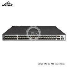 Hua wei S6720 серия S6720-54C-EI-48S-AC сетевой коммутатор Ethernet Стандартный гигабит 48*10 Гиг SFP+, 2*40 Гиг QSFP+ интерфейс