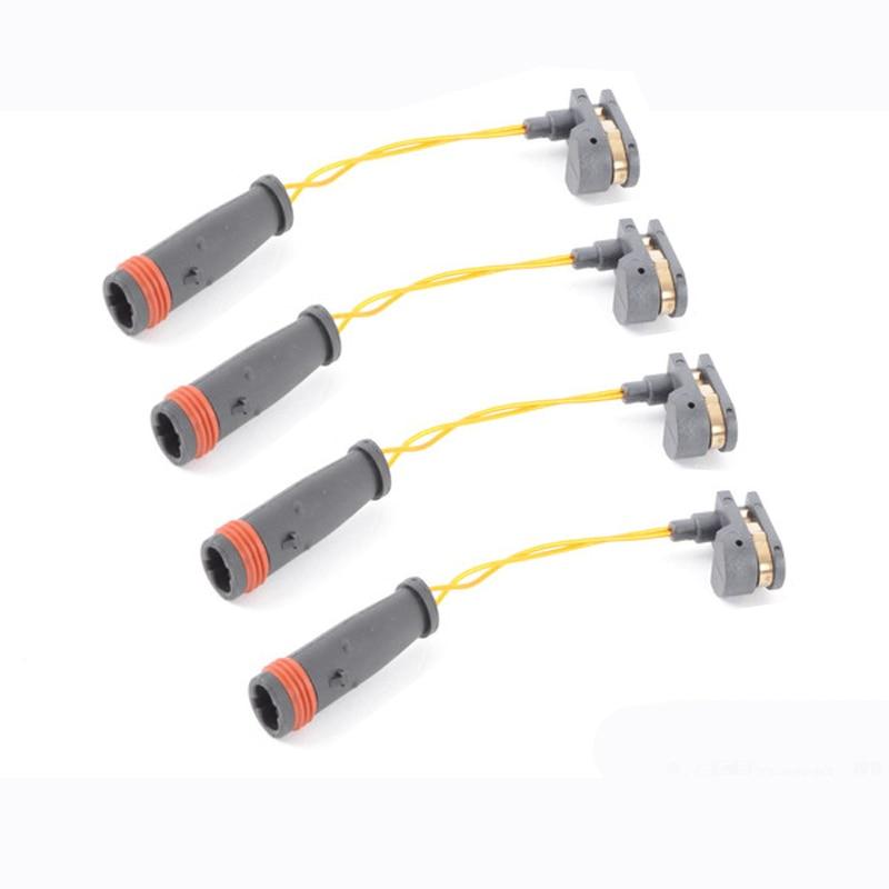 Fit Benz W164 W211 NEW 2 Front /& Rear Brake Pad Wear Sensor 2205401517
