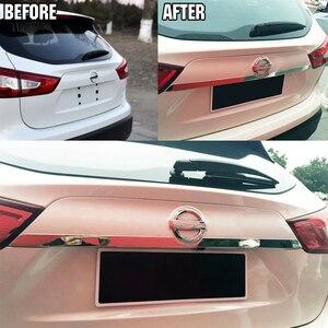 Image 2 - Хромированная крышка багажника для Nissan Rogue Sport Qashqai j11 2014 2019, крышка дверной ручки, отделка, молдинг, Стайлинг автомобиля