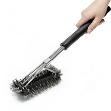 Rugged Grill Cleaning Brush BBQ tool Stainless Steel Brushes Cooking Tools