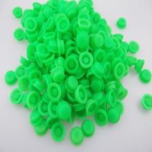 501B 502B Фонарик зеленый светящийся силикагелевый колпачок(10 шт./лот