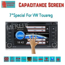 2DIN capacitive screen Car DVD player for VW Touareg 2004-2009 T5 with GPS Navigation radio stereo Bluetooth free shipping