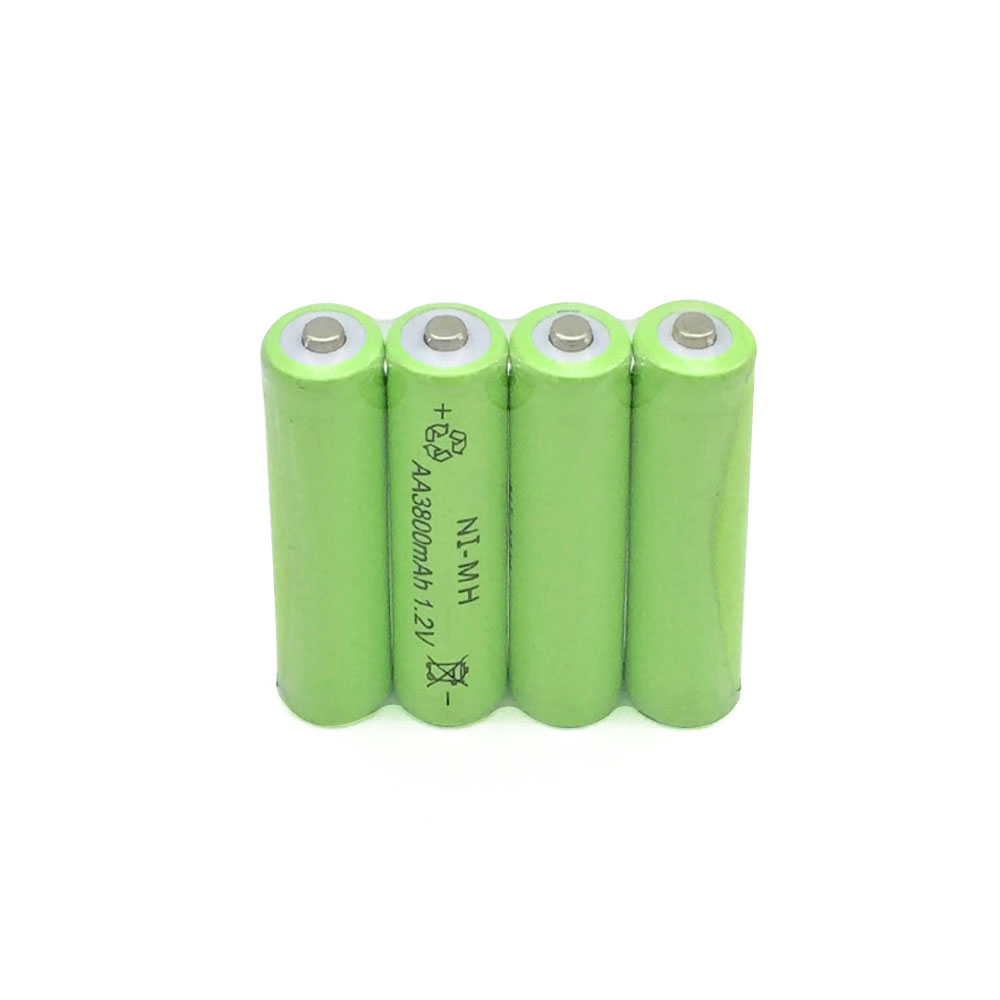 20pc a lot Ni MH 3800mAh AA Batteries 1 2V AA Rechargeable Battery NI MH battery for camera toys in Rechargeable Batteries from Consumer Electronics