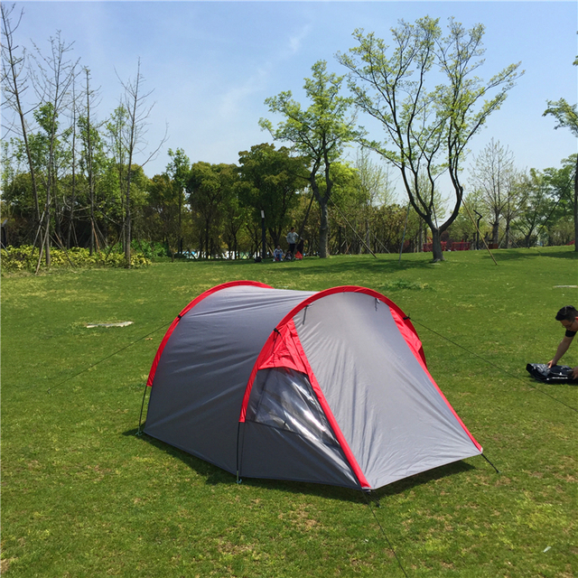 High-end Ultralight 3-4 Person Family Tunnel Tent CZX-163 Backpacking & High end Ultralight 3 4 Person Family Tunnel Tent CZX 163 ...