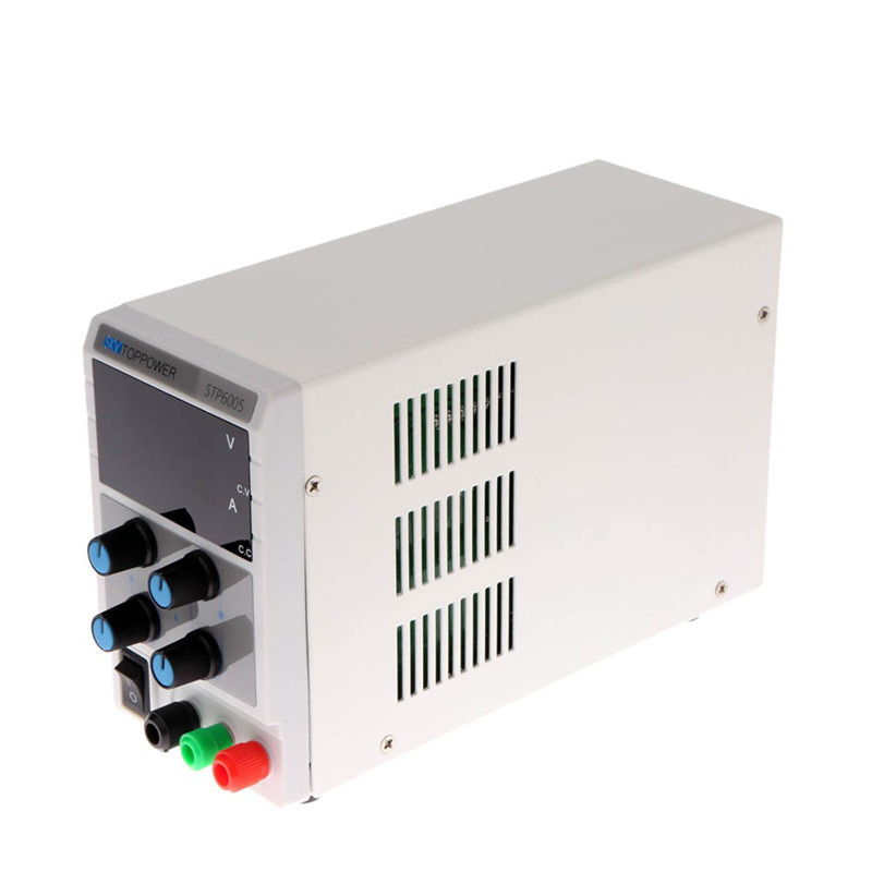 Professional DC power supply STP6005 Adjustable laboratory 220V voltage regulator from SKYTOPPOWER 0-5A/0-60VProfessional DC power supply STP6005 Adjustable laboratory 220V voltage regulator from SKYTOPPOWER 0-5A/0-60V