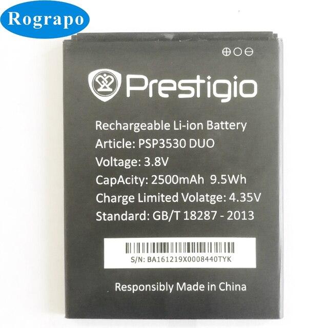 Batería de repuesto PSP3530 de 2500mAh para Prestigio Muze D3 E3 F3 PSP 3530 DUO PSP3531 PSP3532 DUO Muze A7 PSP7530 DUO