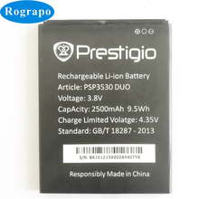 New 2500mAh PSP3530 Replacement Battery For Prestigio Muze D3 E3 F3 PSP 3530 DUO PSP3531 PSP3532 DUO Muze A7 PSP7530 DUO