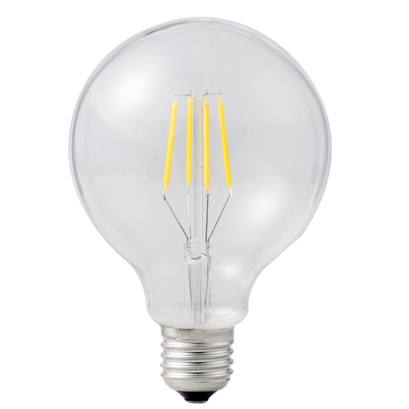 Led Filament Bulb G80 Big light bulb 2W 4W 6W 8W filament led bulb E27 clear glass indoor lighting lamp AC220V Edison Bulb