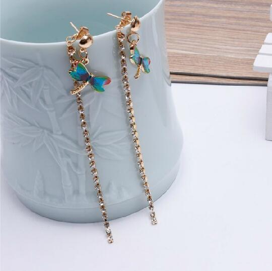 ea691 new listing 80 s 90 s bohemia simple fashion dragonfly