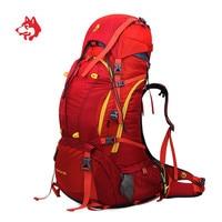 80L большой ёмкость Спорт на открытом воздухе путешествия туристический пеший Туризм рюкзак кемпинг дорожная Сумка для кемпинга водонепрон