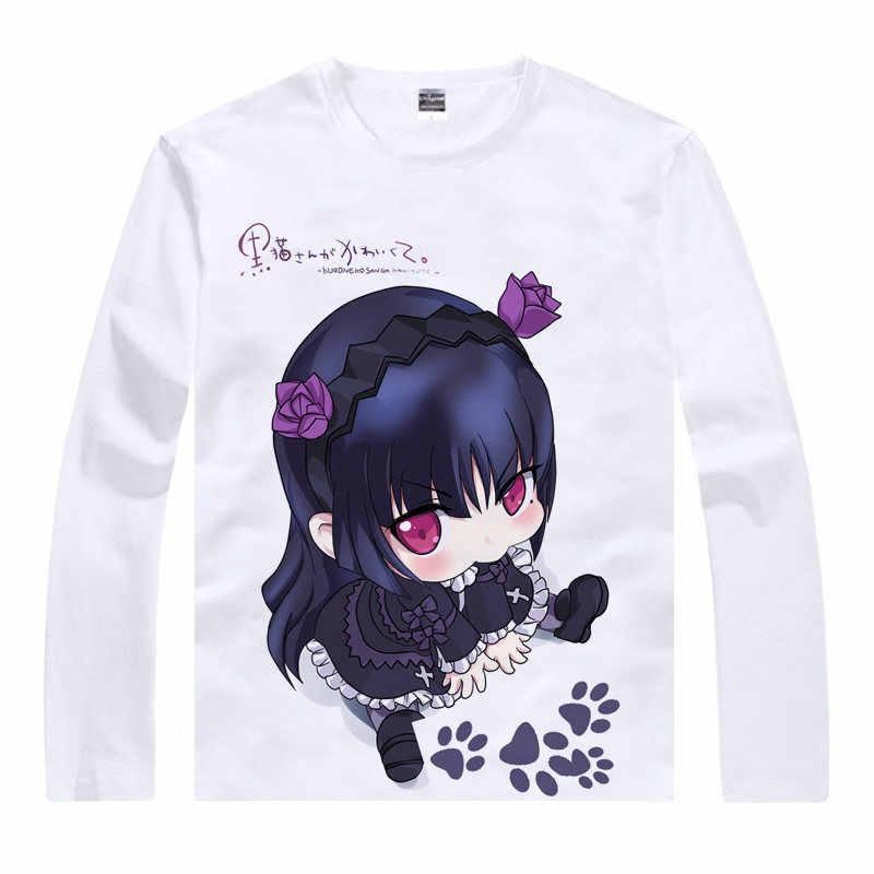 Gar-Field Novel Fashionable Joker Cotton Boys Girls T-Shirt Black