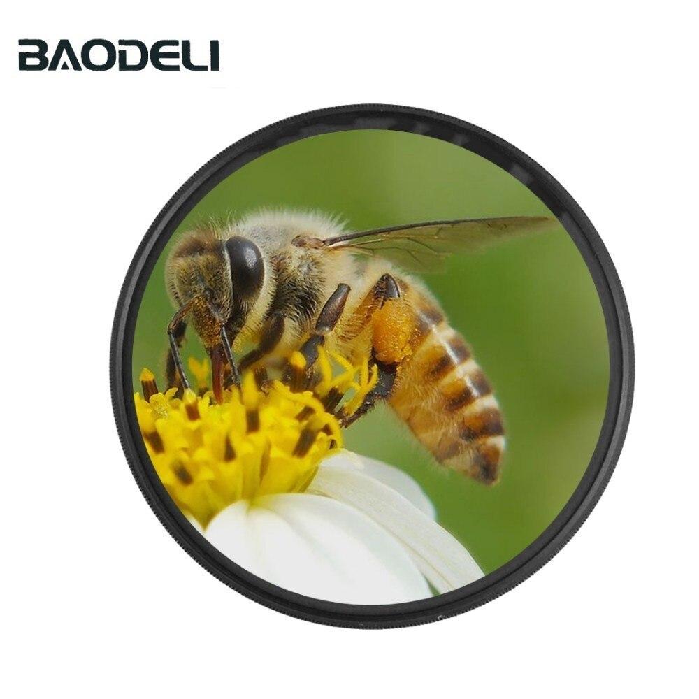 72 BAODELI Camera Lens Filtro Close Up Macro Filter 8 10 Concept 49 52 55 58 62 67 72 77 82 mm For Canon 4000d Nikon D3500 Sony (1)