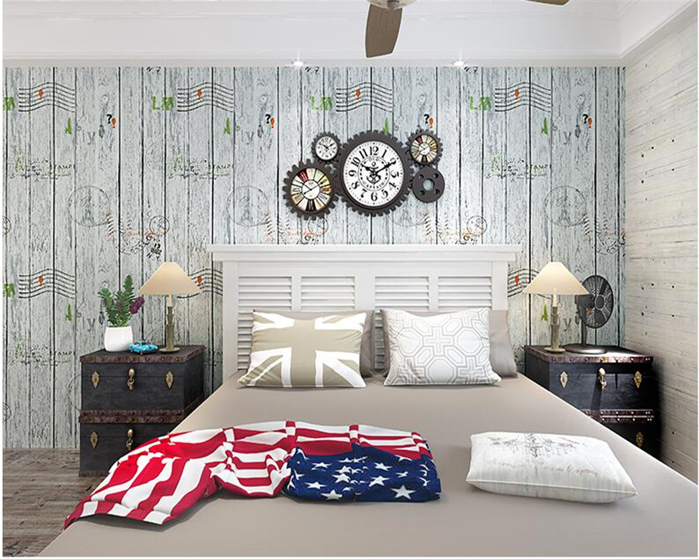 beibehang American style retro papel de parede wallpaper living room bedroom study clothing store bar cafe background wall paper beibehang pure paper wall paper nordic lotus abstract sketch papel de parede wallpaper art background bedroom new chinese style