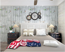 beibehang American style retro papel de parede wallpaper living room bedroom study clothing store bar cafe background wall paper beibehang nostalgic papel de parede retro imitation wooden wallpaper living room study tv background leisure bar background wall