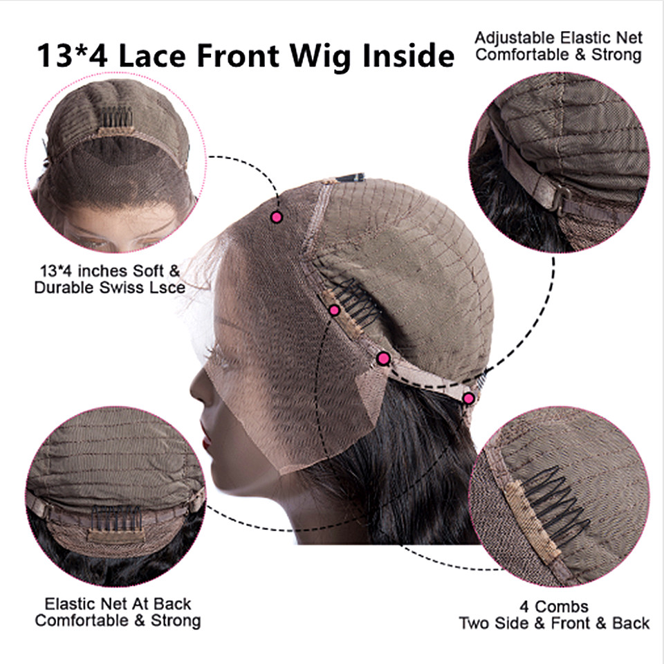 lace front wig inside