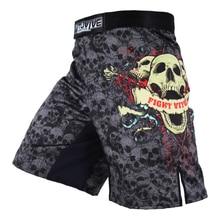 MMA Shorts Mens Boxing kickboxing shorts Fightwear MMA Kick Boxing Fight Trunks Top New Black Tiger Muay Thai boxing clothing цена 2017