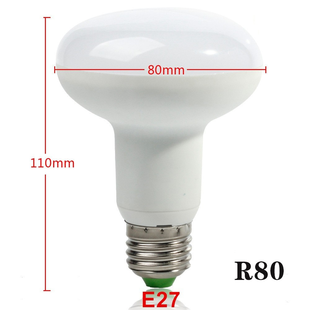 free shipping e27 12w r80 led bulb light dimmable umbrella led bulb cool white warm white ac85. Black Bedroom Furniture Sets. Home Design Ideas