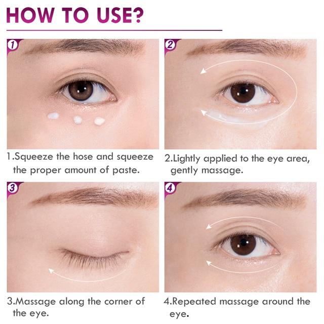 Anti-Puffiness and Anti Winkles Dark Circle Eyes Cream 4