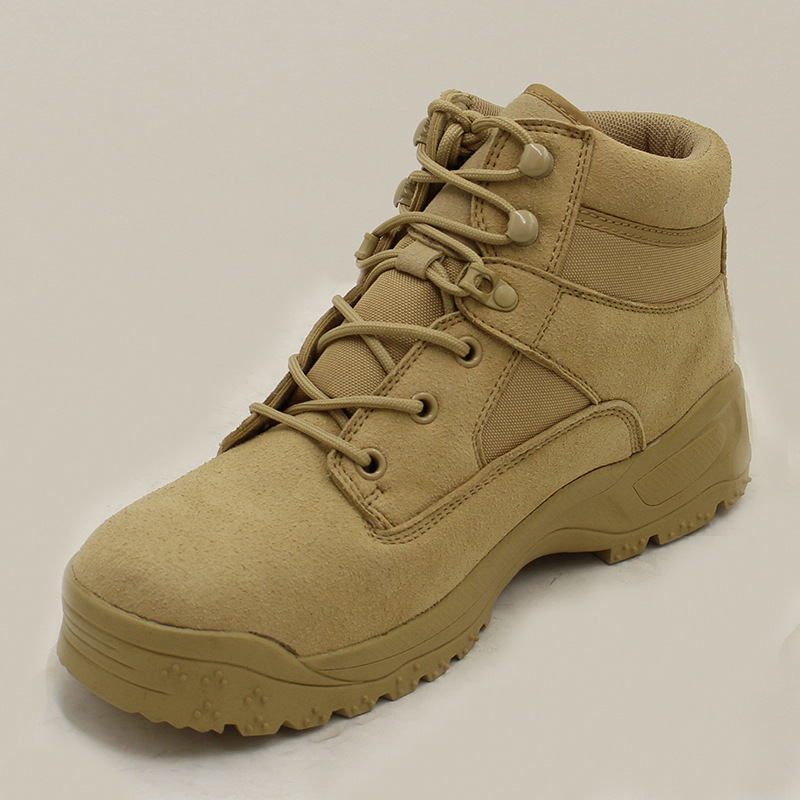 Do Dos De Combate 38 Militares Plus Size Inverno Black 46 Deserto Eua Couro Qualidade Swat Botas Tactical Exército Alta Genuíno desert Homens vnOUdxO