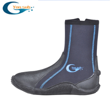 5MM Thick Diving Boots Wading Non-slip Anti-thorn Men And Women Vulcanized Snorkeling Beach Shoes