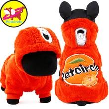 Petcircle 2017 recién llegado de mascotas ropa de invierno perro caliente perro de mascota con capucha abrigos para perros pequeños y grandes de soda para chihuahua