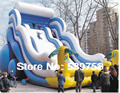 Factory direct inflatable fun city, inflatable trampoline, inflatable obstacles.YLY-030