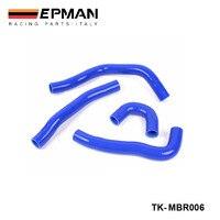 Silicone Intercooler Turbo Radiator Hose Kit For MIT Lancer Evolution X (4pcs) EP-MBR006