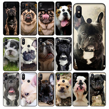 Better Day Puppy Pug Dog Black TPU Soft Rubber Phone Case Cover For Xiaomi Note2 Note3 MI6 MI8 Redmi5 Redmi 5plus Max2 Max3 цена