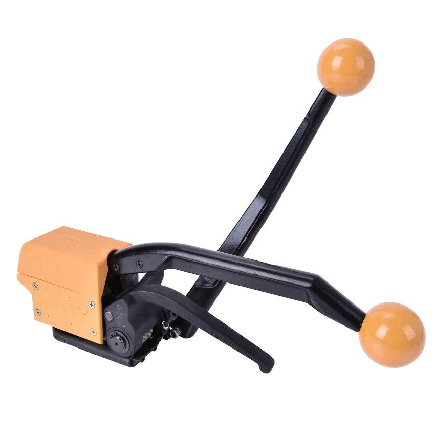 1 pces manual de aço ferramenta de cintar a333 handheld equipamento de embalagem portátil empacotador - 2