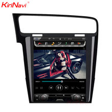 KiriNavi Vertical Screen Tesla Style Android 7.1 10.4 Car Multimedia DVD Player For VW Golf 7 Radio Navigation 2013 +(China)