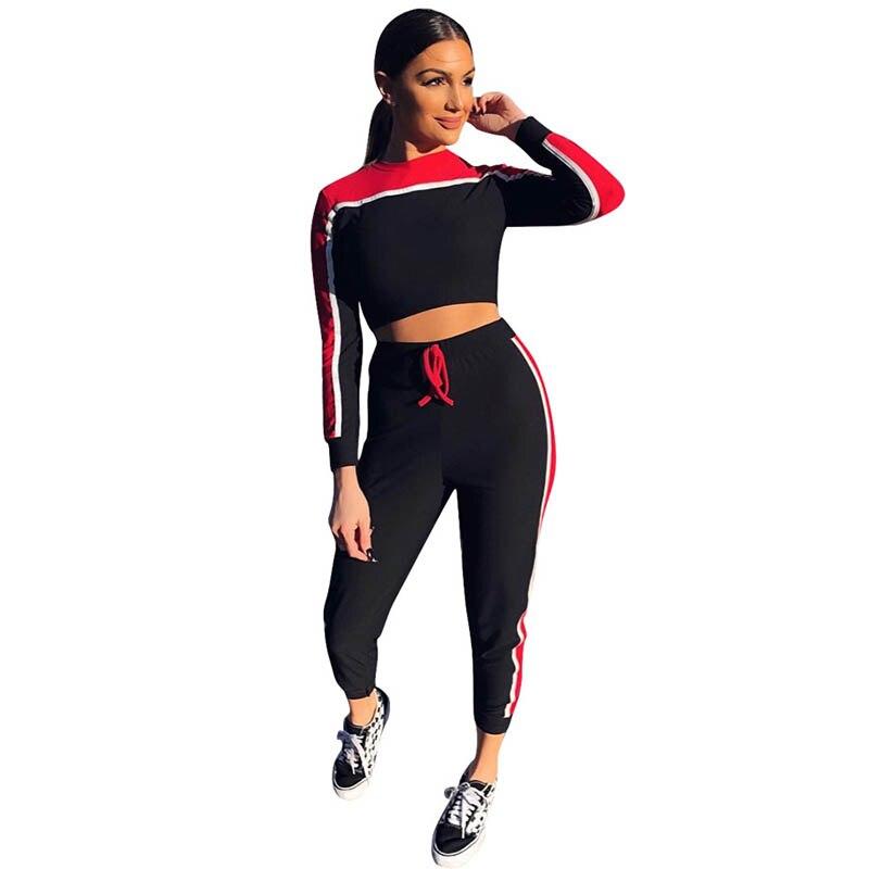 Новый стиль Для женщин Bodycon хлопок черный комбинезон осень Твердые длинным рукавом Сексуальная Растениеводство Комбинезоны из двух частей ...