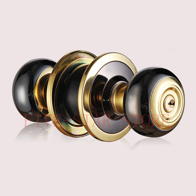 new sus304 stainless steel cylindrical door lock bedroom door lockset round washroom bathroom door lock knob