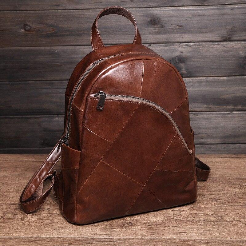 Cobbler Legend sac à dos femmes 2019 sacoche pour ordinateur portable Vintage classique en cuir véritable sac à dos pour femmes sac de dames Mochila Feminina
