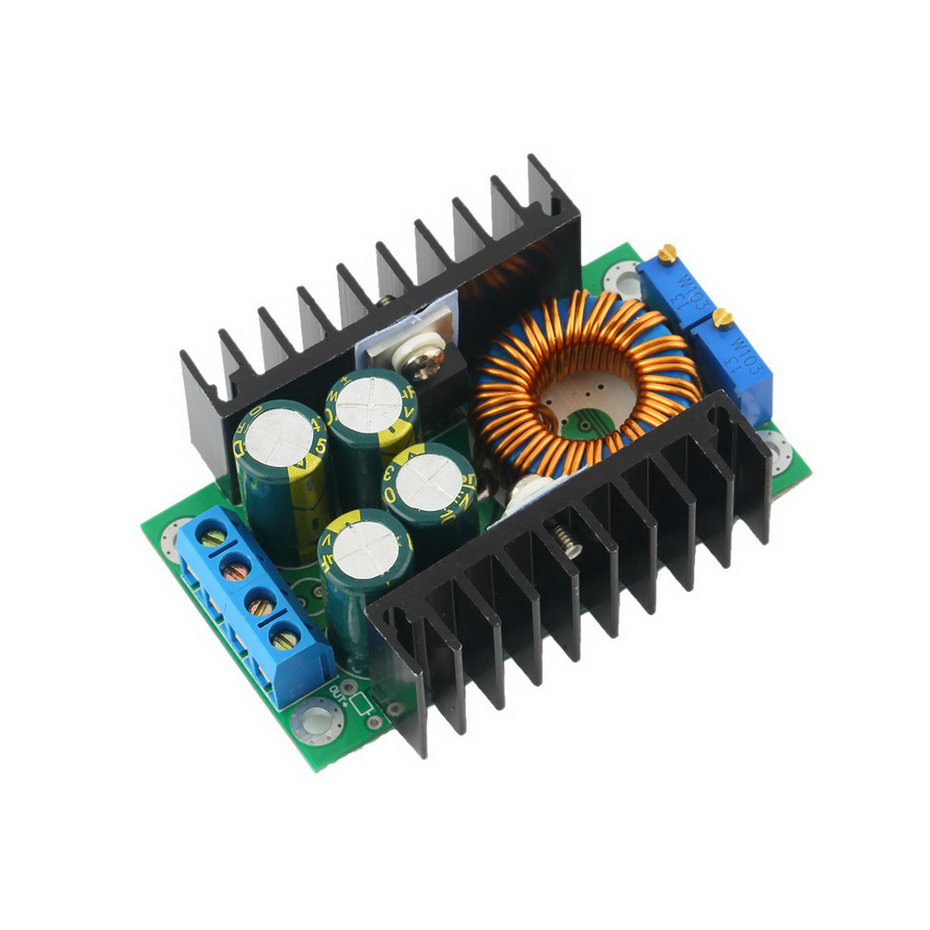 In Stock DC-DC CC CV Buck Converter Step-down Power Supply Module 7-40V to 0.8-35V 12A Free Shipping