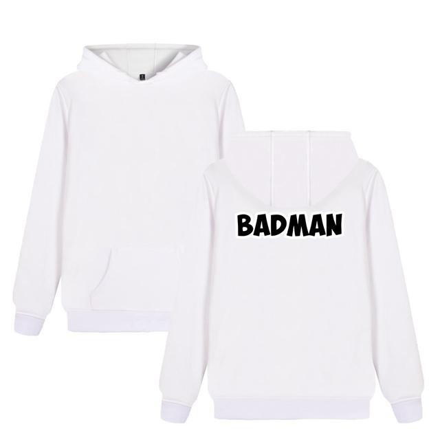 Dragon Ball Vegeta Goku Badman Print Hoodies Brand Clothing