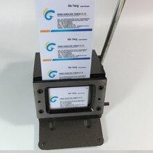 Manual PVC card Cutting Machine Business Name Credit ID Card Cutter 86x54mm 1mm