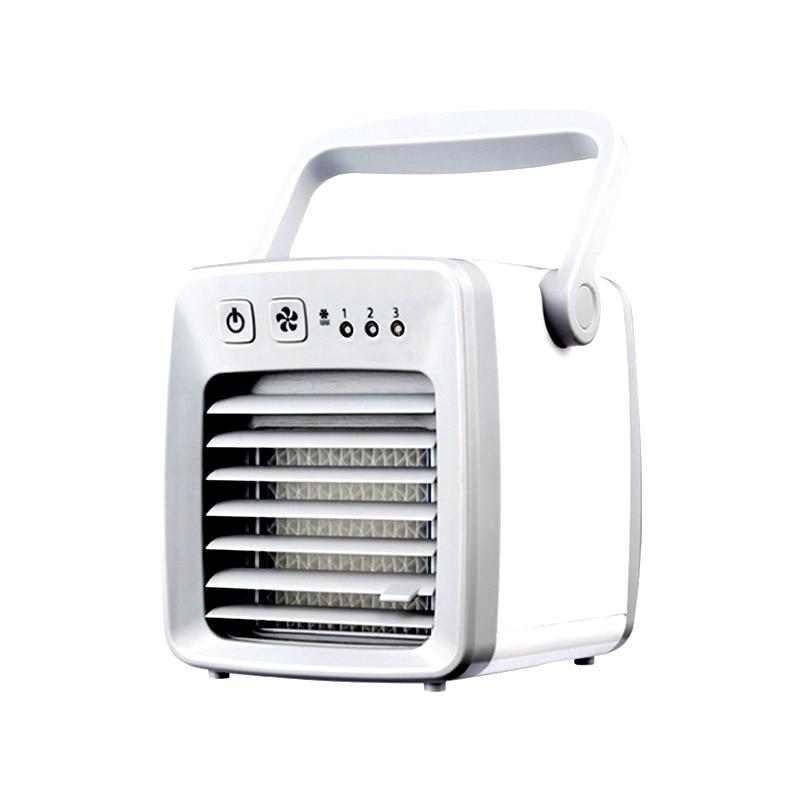 ミニポータブルエアコン空調加湿清浄機クーラー個人的な空間空気冷却ファン用 -