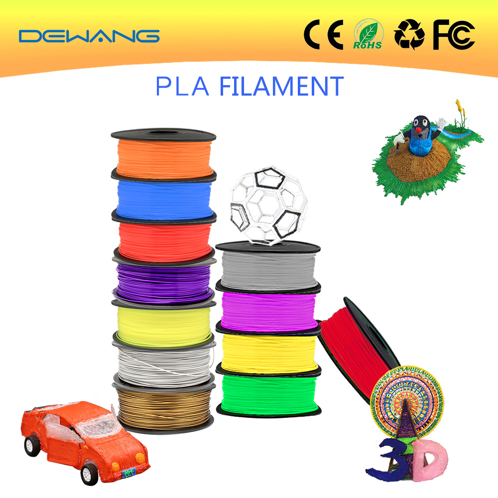 DeWang Fluo-red 1.75mm ABS 3D Filament printing 1kg/Roll Consumables for MakerBot/RepRap/UP/Mendel Free Shipping
